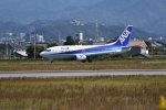 いんちょーさんが、松山空港で撮影した全日空 737-54Kの航空フォト(写真)