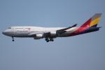OMAさんが、成田国際空港で撮影したアシアナ航空 747-48Eの航空フォト(写真)