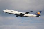 OMAさんが、羽田空港で撮影したルフトハンザドイツ航空 747-830の航空フォト(写真)
