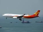 garrettさんが、香港国際空港で撮影した香港航空 A330-243Fの航空フォト(写真)