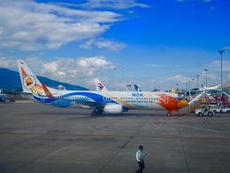 HRK-HNDさんが、チェンマイ国際空港で撮影したノックエア 737-88Lの航空フォト(飛行機 写真・画像)