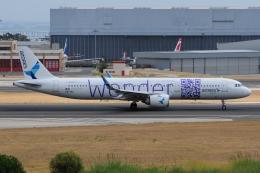 ぼんやりしまちゃんさんが、リスボン・ウンベルト・デルガード空港で撮影したアゾレス・エアラインズ A321-253Nの航空フォト(飛行機 写真・画像)