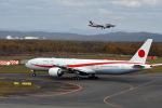 anyoziさんが、新千歳空港で撮影した航空自衛隊 777-3SB/ERの航空フォト(写真)