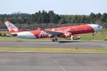 OMAさんが、成田国際空港で撮影したタイ・エアアジア・エックス A330-343Eの航空フォト(飛行機 写真・画像)