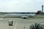 zettaishinさんが、シンシナティ・ノーザンケンタッキー国際空港で撮影したデルタ航空 MD-90-30の航空フォト(写真)