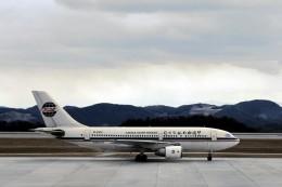 LEVEL789さんが、広島空港で撮影した中国西北航空 A310-222の航空フォト(飛行機 写真・画像)