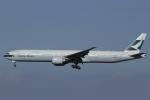 とらとらさんが、成田国際空港で撮影したキャセイパシフィック航空 777-367/ERの航空フォト(写真)