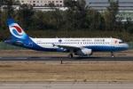 たみぃさんが、北京首都国際空港で撮影した重慶航空 A320-232の航空フォト(写真)