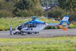 りゅうさんさんが、調布飛行場で撮影した産経新聞社 EC135T1の航空フォト(写真)
