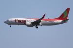OMAさんが、成田国際空港で撮影したティーウェイ航空 737-8KGの航空フォト(飛行機 写真・画像)