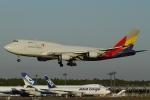 とらとらさんが、成田国際空港で撮影したアシアナ航空 747-419(BDSF)の航空フォト(写真)