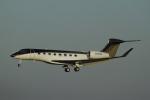 とらとらさんが、成田国際空港で撮影したウィルミントン・トラスト・カンパニー Gulfstream G650ER (G-VI)の航空フォト(写真)