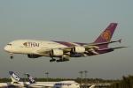 とらとらさんが、成田国際空港で撮影したタイ国際航空 A380-841の航空フォト(写真)