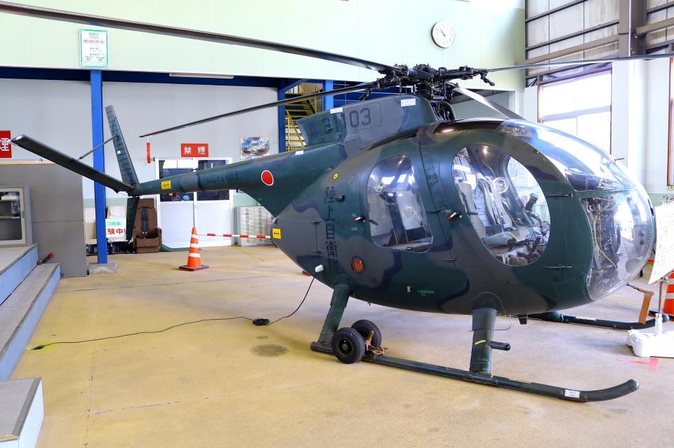 Tomo_mczさんの陸上自衛隊 Kawasaki OH-6J (31103) 航空フォト