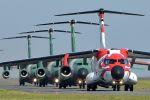 うめやしきさんが、入間飛行場で撮影した航空自衛隊 C-1の航空フォト(飛行機 写真・画像)