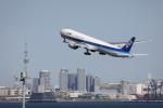 VEZEL 1500Xさんが、羽田空港で撮影した全日空 777-381/ERの航空フォト(写真)