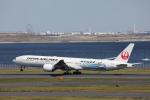 VEZEL 1500Xさんが、羽田空港で撮影した日本航空 777-346/ERの航空フォト(写真)