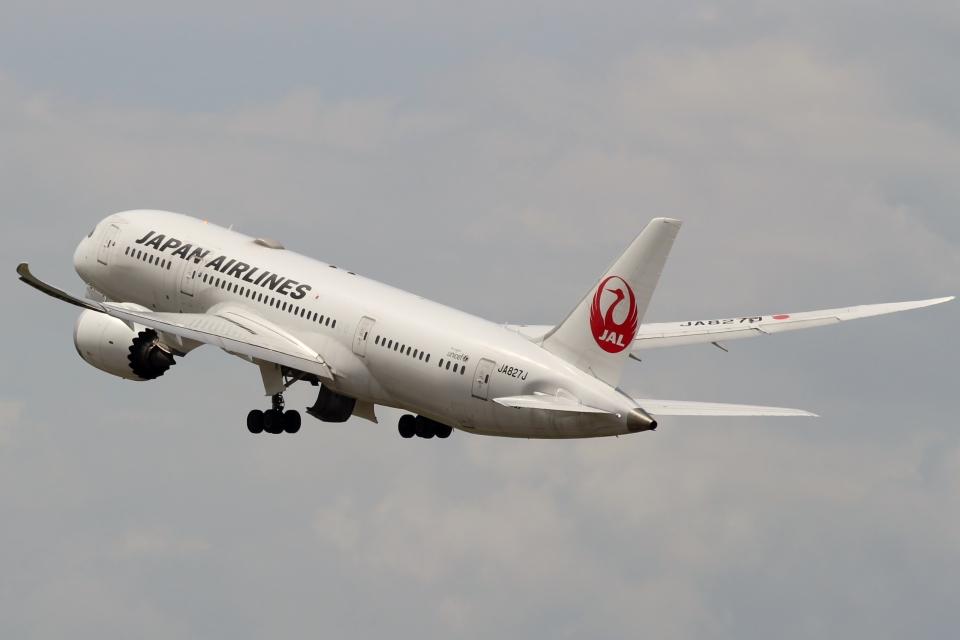 ハピネスさんの日本航空 Boeing 787-8 Dreamliner (JA827J) 航空フォト