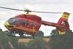 MOR1(新アカウント)さんが、コスフォード空軍基地で撮影したMidlands Air Ambulance Charity EC145T2の航空フォト(写真)