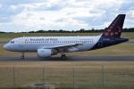 MOR1(新アカウント)さんが、バーミンガム国際空港で撮影したブリュッセル航空 A319-112の航空フォト(写真)