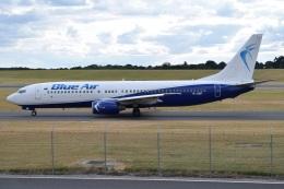 MOR1(新アカウント)さんが、バーミンガム国際空港で撮影したブルー・エア 737-8Q8の航空フォト(飛行機 写真・画像)