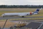 MOR1(新アカウント)さんが、バーミンガム国際空港で撮影したスカンジナビア航空 CL-600-2D24 Regional Jet CRJ-900LRの航空フォト(写真)