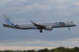 MOR1(新アカウント)さんが、バーミンガム国際空港で撮影したフライビー ERJ-190-200 LR (ERJ-195LR)の航空フォト(飛行機 写真・画像)