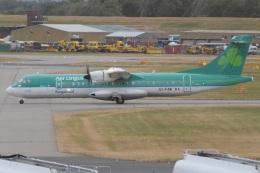 MOR1(新アカウント)さんが、バーミンガム国際空港で撮影したエア・リンガス・リージョナル ATR 72-600の航空フォト(飛行機 写真・画像)