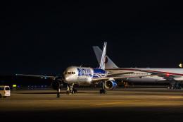 Cygnus00さんが、千歳基地で撮影したナショナル・エアラインズ 757-28Aの航空フォト(飛行機 写真・画像)