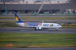 チャッピー・シミズさんが、羽田空港で撮影したスカイマーク 737-81Dの航空フォト(写真)