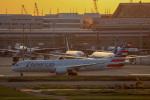 チャッピー・シミズさんが、羽田空港で撮影したアメリカン航空 787-9の航空フォト(写真)