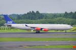 ちゃぽんさんが、成田国際空港で撮影したスカンジナビア航空 A340-313Xの航空フォト(写真)