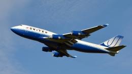 flytaka78さんが、成田国際空港で撮影したユナイテッド航空 747-451の航空フォト(飛行機 写真・画像)