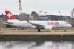 MOR1(新アカウント)さんが、ロンドン・シティ空港で撮影したスイスインターナショナルエアラインズ BD-500-1A10 CSeries CS100の航空フォト(写真)