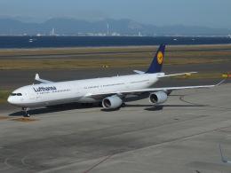 航空フォト:D-AIHK ルフトハンザドイツ航空 A340-600