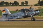 MOR1(新アカウント)さんが、ダックスフォード飛行場で撮影したDeautsche Lufthansa An-2の航空フォト(写真)