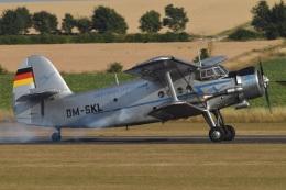 MOR1(新アカウント)さんが、ダックスフォード飛行場で撮影したDeautsche Lufthansa An-2の航空フォト(飛行機 写真・画像)