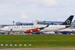 あしゅーさんが、成田国際空港で撮影したスカンジナビア航空 A340-313Xの航空フォト(飛行機 写真・画像)