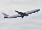 じーく。さんが、成田国際空港で撮影したチャイナエアライン A330-302の航空フォト(写真)
