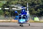 くれないさんが、高松空港で撮影した香川県警察 EC155B1の航空フォト(写真)