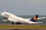 ハピネスさんが、中部国際空港で撮影したルフトハンザドイツ航空 747-430の航空フォト(写真)