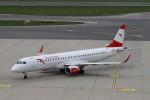 BTYUTAさんが、ウィーン国際空港で撮影したオーストリア航空 ERJ-190-200 LR (ERJ-195LR)の航空フォト(写真)