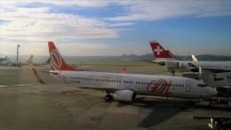westtowerさんが、サンパウロ・グアルーリョス国際空港で撮影したゴル航空 737-8EHの航空フォト(飛行機 写真・画像)