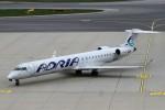 BTYUTAさんが、ウィーン国際空港で撮影したアドリア航空 CL-600-2D24 Regional Jet CRJ-900の航空フォト(写真)