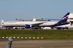 たみぃさんが、成田国際空港で撮影したアエロフロート・ロシア航空 777-3M0/ERの航空フォト(写真)