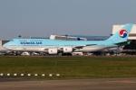 たみぃさんが、成田国際空港で撮影した大韓航空 747-8B5の航空フォト(写真)
