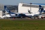 たみぃさんが、成田国際空港で撮影したオーロラ DHC-8-402Q Dash 8の航空フォト(写真)