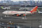 シュウさんが、羽田空港で撮影したエア・インディア 747-437の航空フォト(写真)