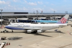 ハピネスさんが、中部国際空港で撮影したチャイナエアライン 747-409の航空フォト(写真)