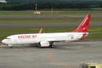 セブンさんが、新千歳空港で撮影したイースター航空 737-86Jの航空フォト(飛行機 写真・画像)